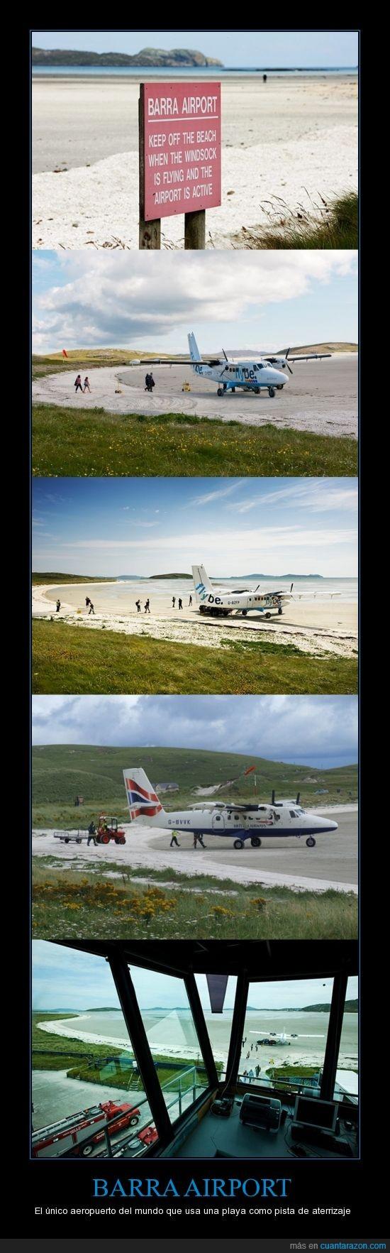 aeropuerto,Barra,Barra Eoligarry Airport,Escocia,Hébridas Exteriores,pista de aterrizaje,playa