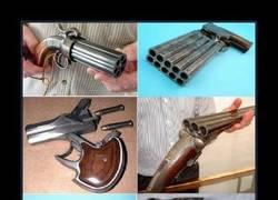 Enlace a Antes que se creara la metralleta, existió esto