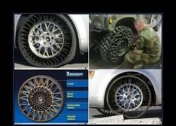 Enlace a Michelin y las ruedas casi imposibles de pinchar