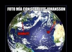 Enlace a Mi foto con Scarlett Johansson
