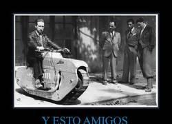 Enlace a Una moto en 1939