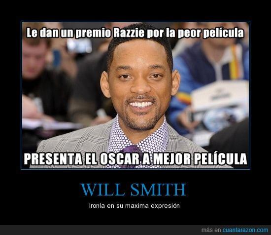 afterearth,Oscar,Peliculas,razzie,Will Smith
