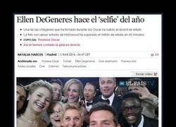Enlace a La selfie de Ellen DeGeneres en los Oscar 2014