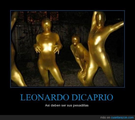 dorado,Leonardo DiCaprio,Oscars,pesadilla