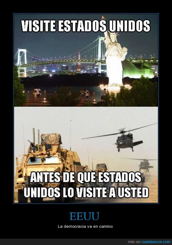 democracia,eeuu,guerra,obama,tanques,turismo,usa,visitar