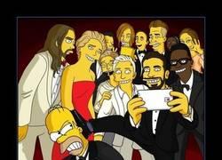 Enlace a El selfie de los Simpson