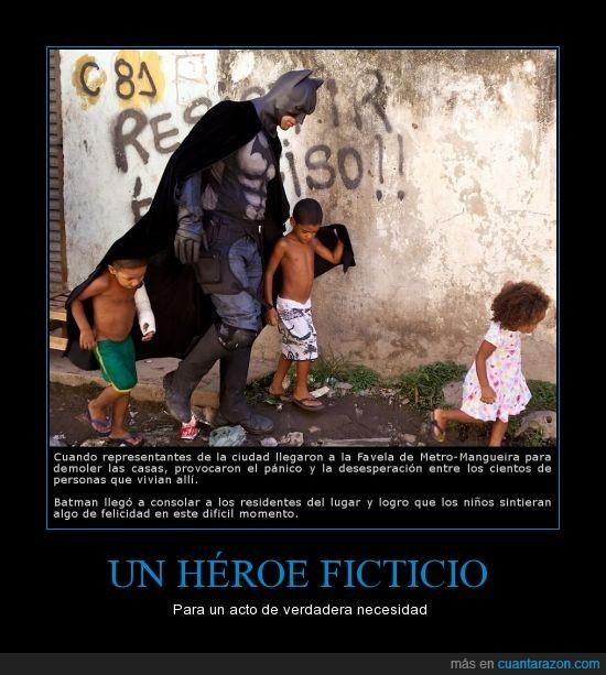 batman,favela,heroe