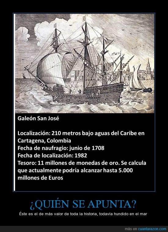 barco,culturilla,curiosidades,oro,riqueza,tesoros