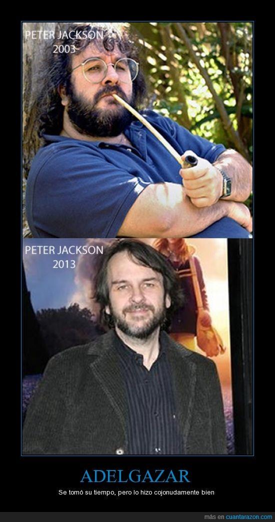 adelgazar,peter jackson