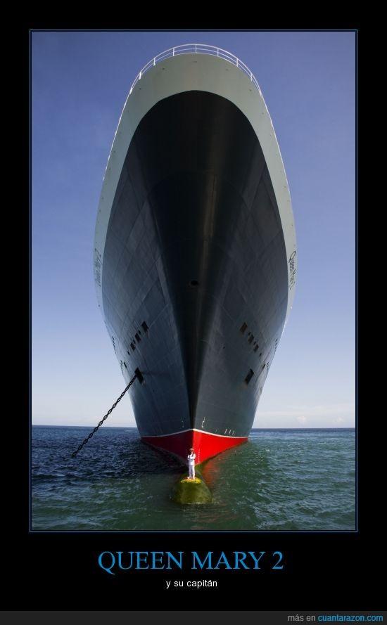 barco,buque,capitán,crucero,mar,oceano,Queen Mary 2