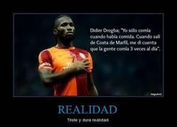 Enlace a Didier Drogba sabe de lo que habla