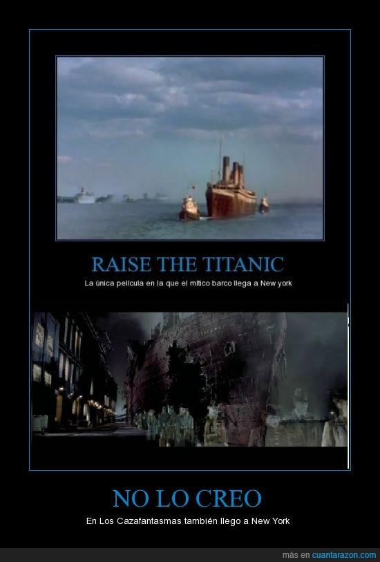 barco,cazafantasmas,nueva york,titanic