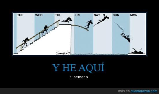 días,estadisticas,lunes,sabado,semana,viernes