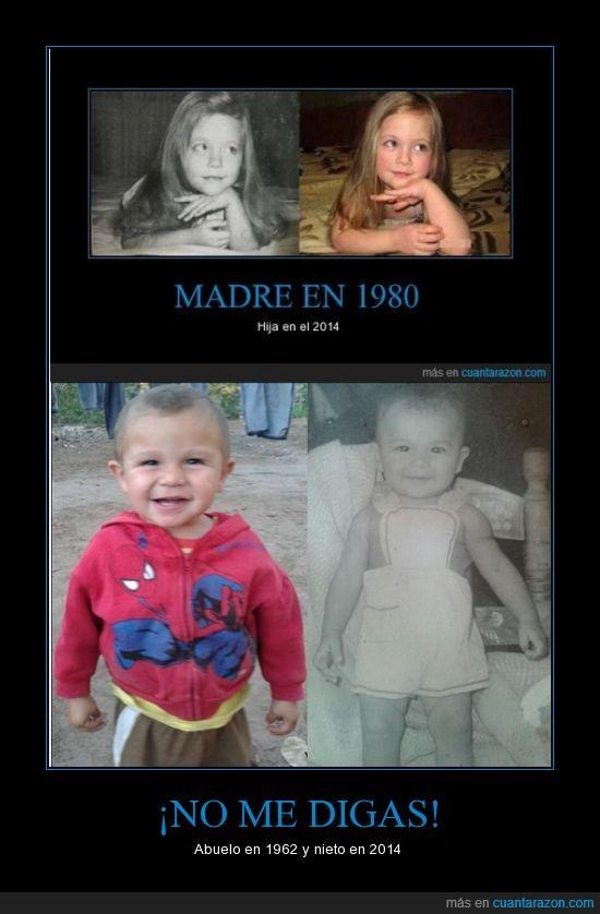 1962,2014,abuelo,bebe,nieto,niño,papá,pequeño,sobrino