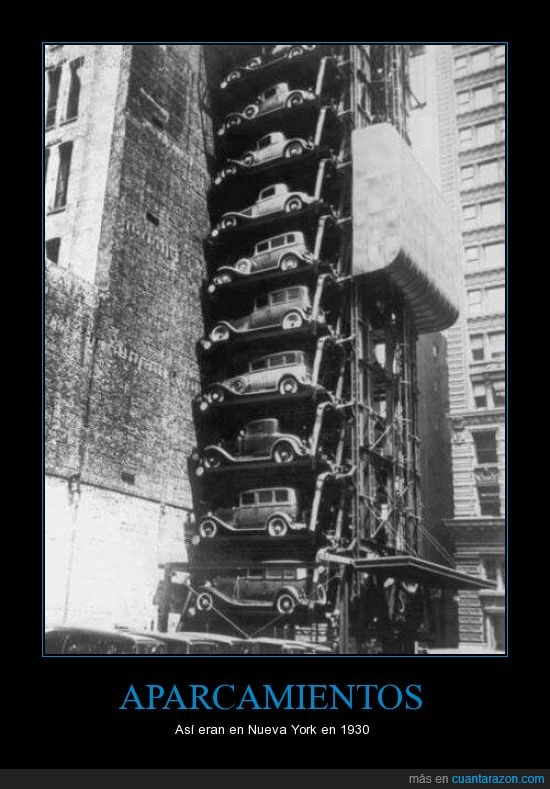 1930,aparcamiento,coche,nueva york,ny,parking,piso