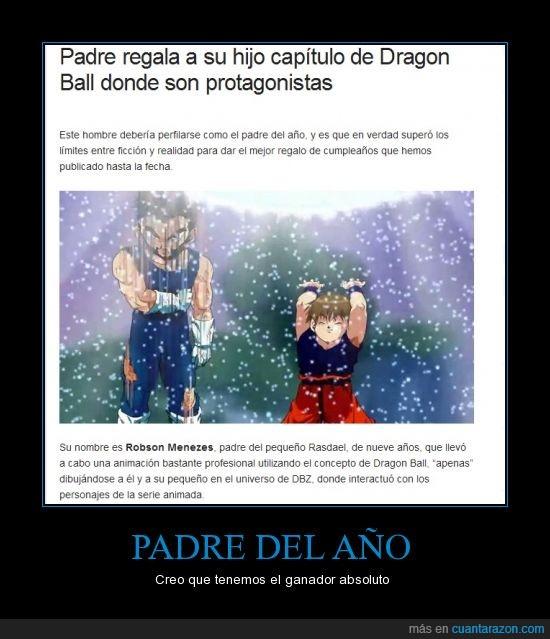 año,dragon ball,en el enlace puedes ver el video,mejor papá,padre,parodia