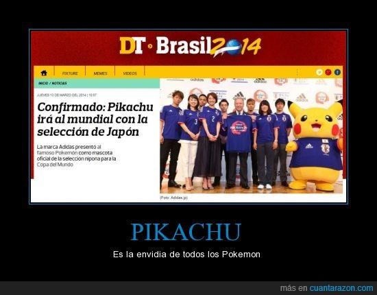 2014,brasil,copa,envidia,mundial,mundo,pikachu,pokemon