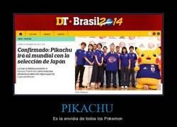 Enlace a Pikachu va al mundial con Japón