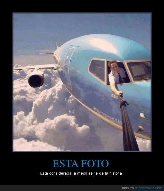 autofoto,avión,foto,historia,nubes,Selfie