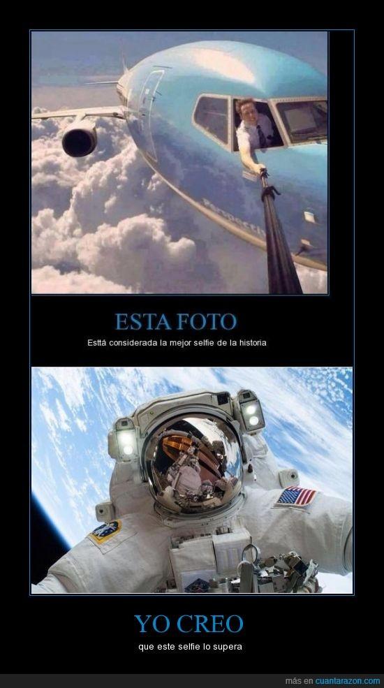 astronauta,espacio,foto tuenti,selfie