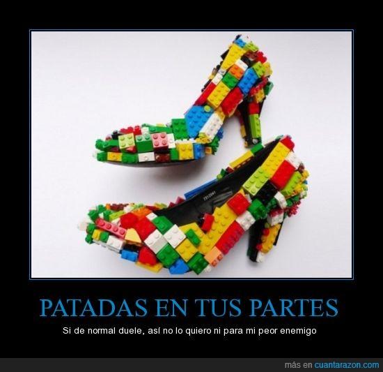 aaaaaaaaawwwwwwwwch,dolor,lego,ouch,patada,pieza,sufrir