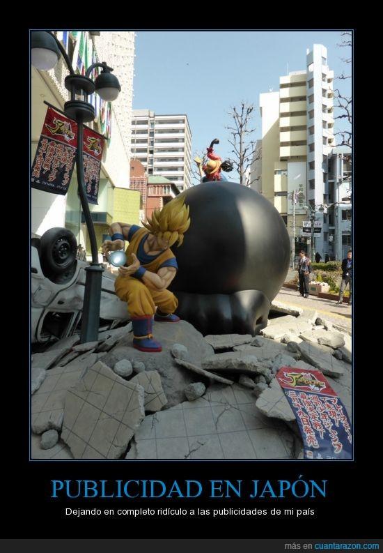 Goku,Goku vs Luffy,J-Stars Victory VS,Japón,Luffy,Publicidad,Video juego