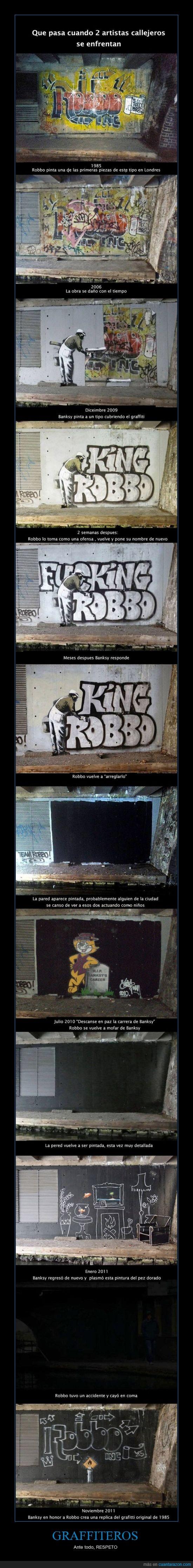 bansky,graffiti,pintura,respect,robbo
