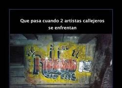 Enlace a Banksy y Robbo