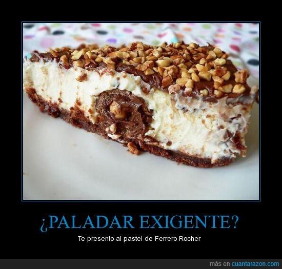chocolate,Ferrero,paladar,pastel,que rico