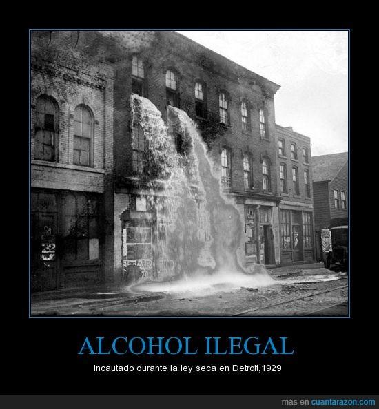 alcohol,detroit,ilegal,tirar,ventana