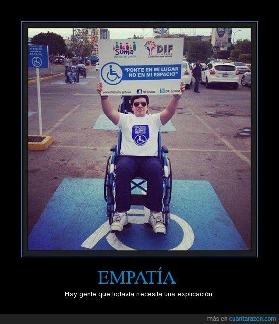 aparcamiento,Empatía,Lugar,minusvalido,paralitico,parking,sitio