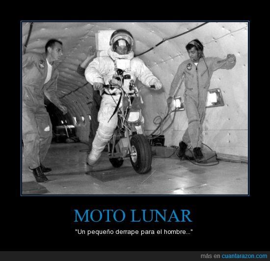 astronauta,espacio,luna,moto
