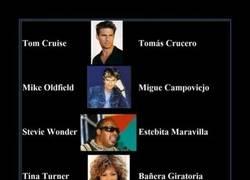 Enlace a Traducciones de nombres de famosos