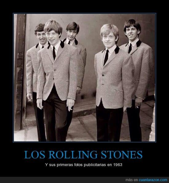 fotos,joven,primera,publicidad,Rolling,stones