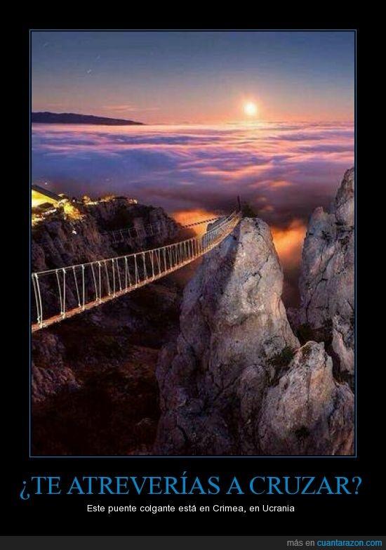 altura,peligro,puente,Ucrania