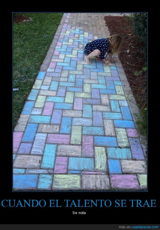 adoquin,arte,color,corredor,niña,pasillo,pintura,talento,tiza