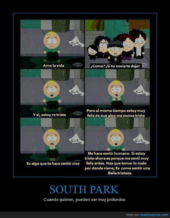 Felicidad,Humanos,Sentimientos,South Park,Tristeza