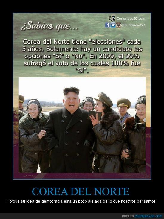 corea del norte,democracia,descabellado