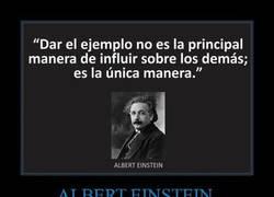 Enlace a Albert Einstein nos explica cómo influir sobre la gente