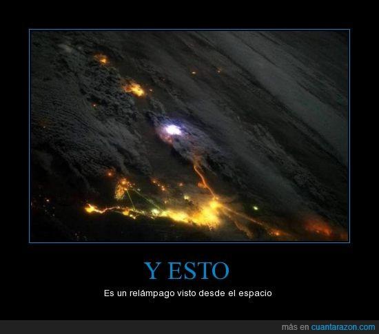 cielo,espacio,fotografia,nasa,rayo,relampago,Thor