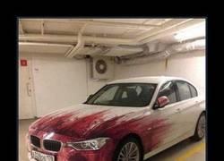 Enlace a Pintura de sangre para tu coche