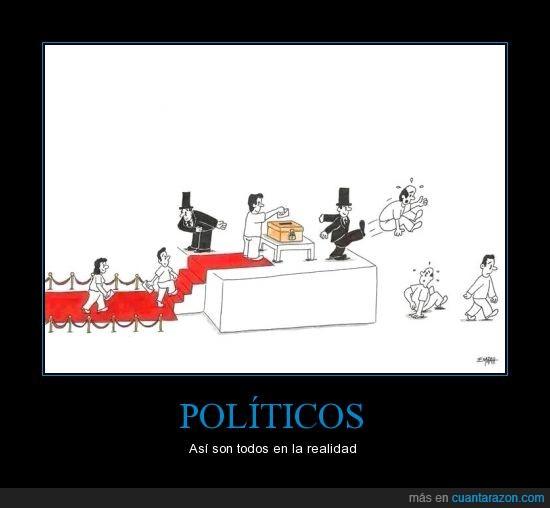 patada,politicos,pueblo,urna,votaciones,votos