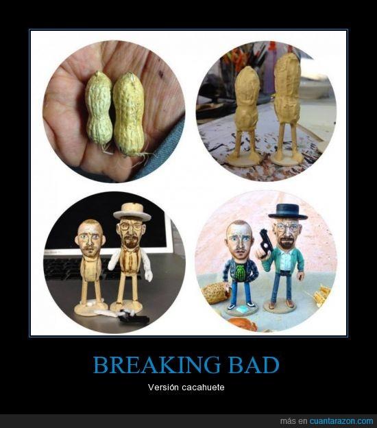 breaking bad,cacahuete,jesse pinkman,version,walter white