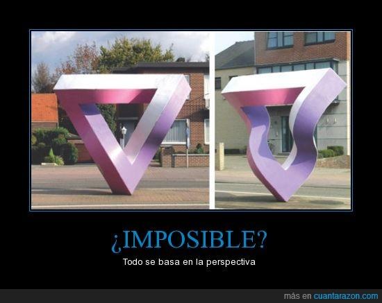 encima,escultura,figura,imposible,triangulo