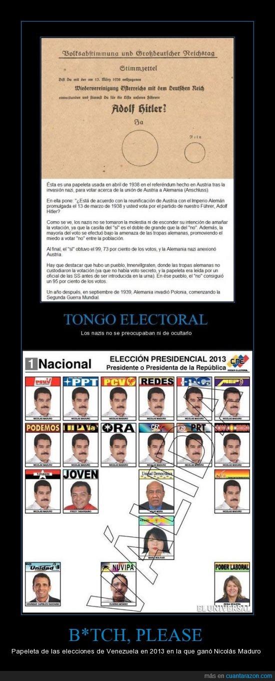chávez,elecciones 2013,los dos llevan bigote,maduro,manda huevos,nicolás,venezuela