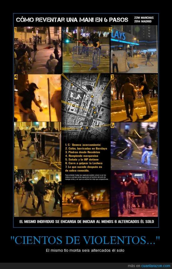 22m,calle,manifestacion,marquesina,piedra,radical,romper