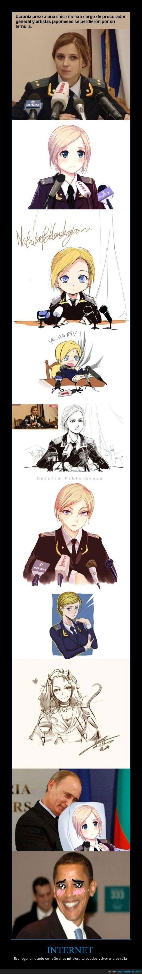 anime,chica,internet,japoneses,linda,manga,obama,putin,ternura,ucrania