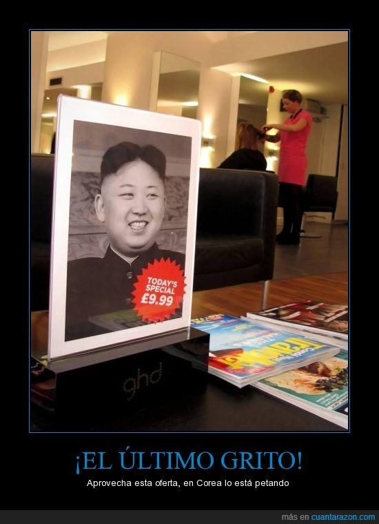 cabello,Corea del Norte,corte,estilista,Kim Jong-un,mismo,moda,peinado,pelo