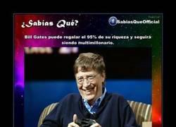Enlace a Bill Gates es jodidísimamente rico