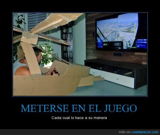 cartón,gamer,helicóptero,juego,mando,mejor que oculus rift oiga,televisión,videojuego